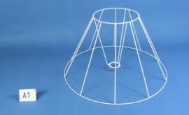 Frame 50 cm. voor een genaaide plooilampenkap