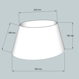 lampenkap ovaal model 4130 stofklasse 1