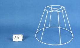 Frame 30 cm. voor een genaaide plooilampenkap