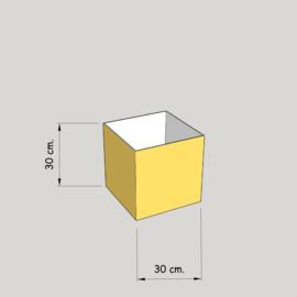 model 4730 hoog 30 of 25 cm.;  stof klasse 1