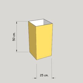 model 4725 hoog 50 of 45 cm.;  stof klasse 1