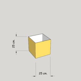 model 4725 hoog 25 of 20 cm.;  stof klasse 1