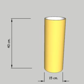 cilinder dia 15 cm. hoog 40 cm. of 35 cm. in  stof klasse 1.