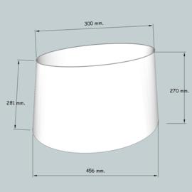 lampenkap ovaal model 4145 stofklasse 1