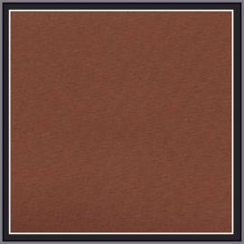 nr. 295 Chintz bruin,  geplakt op wit pvc.