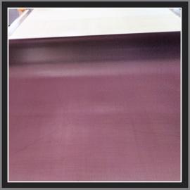 nr. 455 Chiffon paars,  geplakt op glashelder pvc