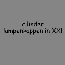 Cilinder kappen in XXL tot 100 cm.