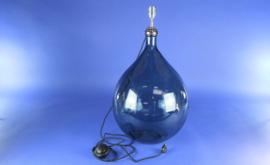 Glaslamp kompleet gemonteerd