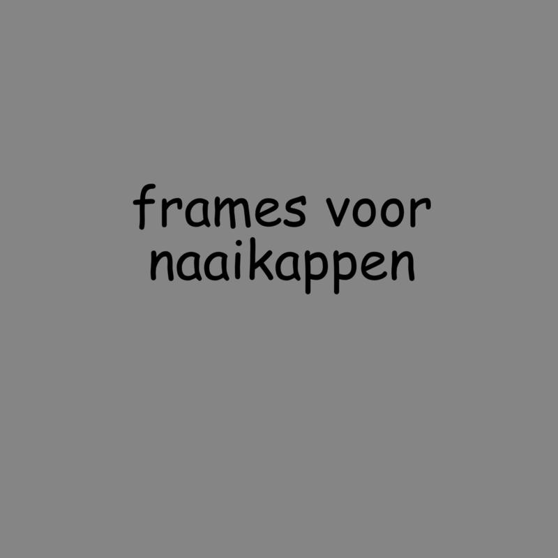 D.H.Y. frames voor handgenaaide lampenkappen.