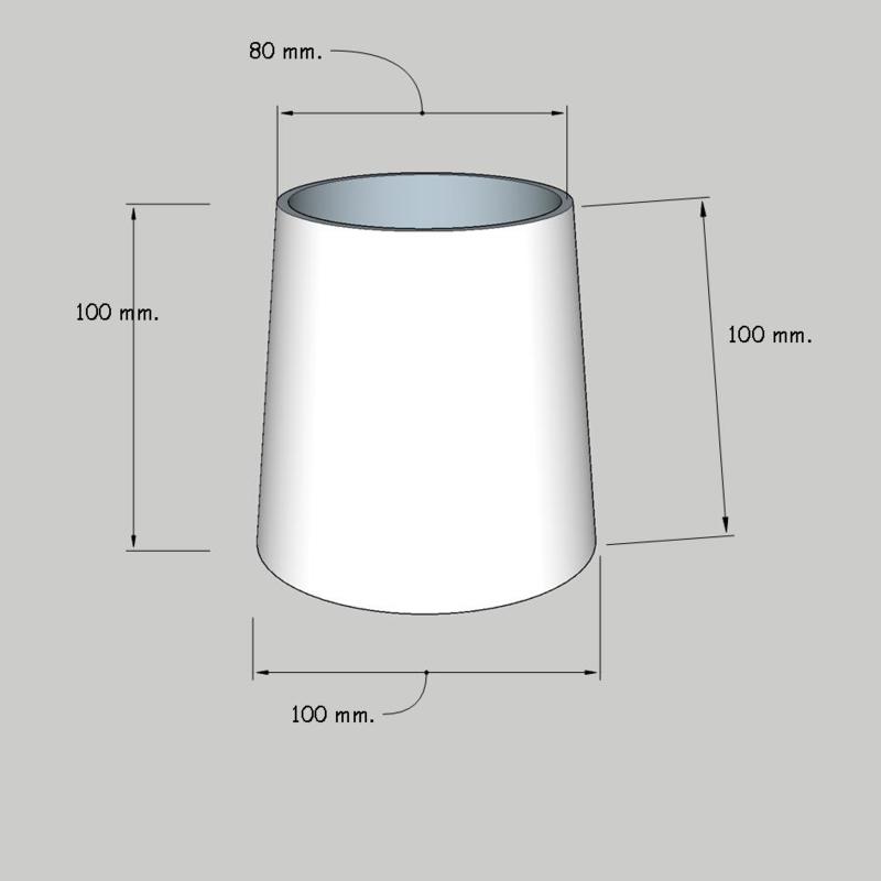 model 3910 (kroonkapje); stof klasse 1