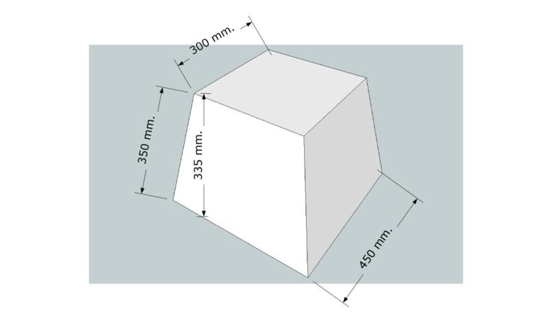 model 4245;  stof klasse 1