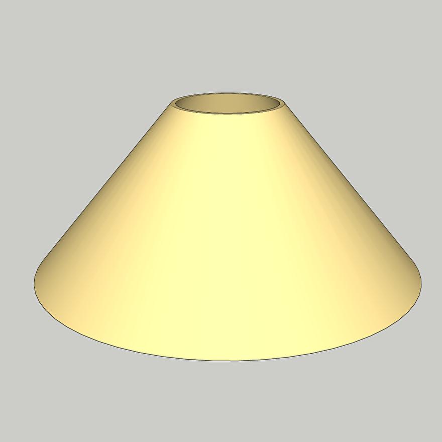 lampenkap model 20