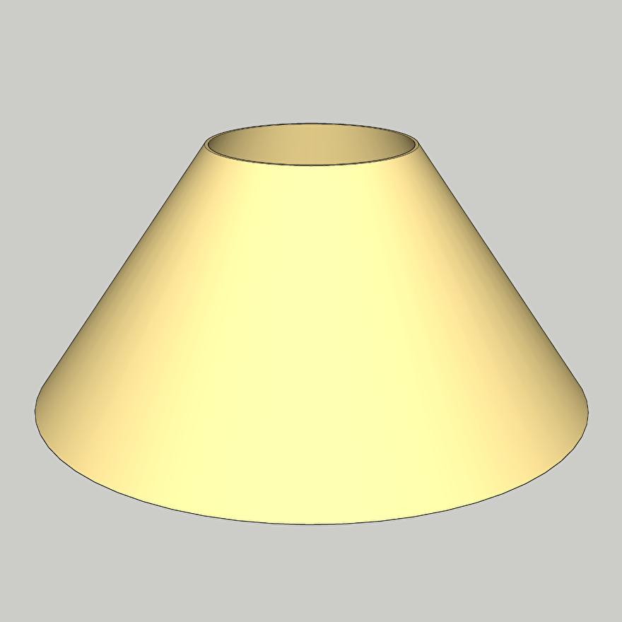 lampenkap model 34