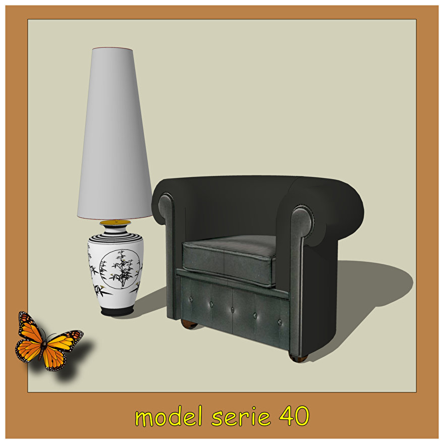 lampenkappen model 40 cone