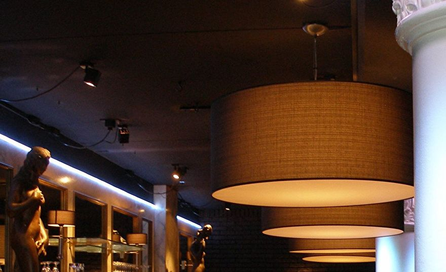 rvs pendels voor lampenkappen