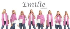 Sjaal dames - Cashmere - Shawl - omslagdoek - stola - pashmina - groen