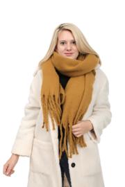 Emilie Scarves Winter sjaal extra lang en warm - bruin - 200*50CM