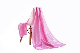 Emilie Scarves omslagdoek sjaal Lang Satijn - roze - 200*70CM