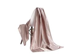 Emilie Scarves omslagdoek sjaal Lang Satijn - champagne beige - 200*70CM