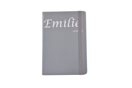 Emilie Scarves - Notebook - Notitieboek (A5) - Grijs