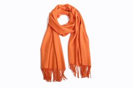 Emilie Scarves Pashmina sjaal Cashmere omslagdoek Oranje - 200*63CM