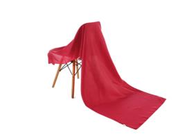 Emilie Scarves omslagdoek sjaal Lang Satijn - rood - 200*70CM