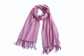 Sjaal dames - Cashmere - Shawl - omslagdoek - stola - pashmina - Paars