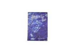 Emilie Scarves Paspoorthoesje - houder paspoort - Van Gogh Amandelbloesem - Donker blauw