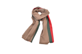 Dames pashmina sjaal  omslagdoek beige