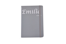 Emilie Scarves - Notebook - Notitieboek (A5) - Grijs