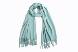 Emilie Scarves Pashmina sjaal Cashmere omslagdoek donker mint - 200*63CM