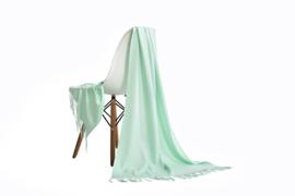 Emilie Scarves Pashmina sjaal Cashmere omslagdoek mint - 200*63CM