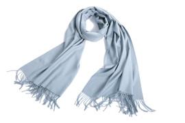 Emilie Scarves Pashmina sjaal Cashmere omslagdoek ijsblauw - 200*63CM