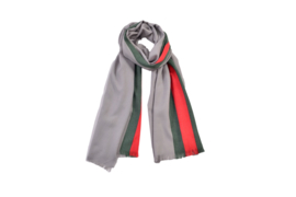 Dames pashmina sjaal  omslagdoek grijs