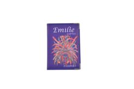 Emilie Scarves Paspoorthoesje - houder paspoort - Veren | Ibiza Feathers | blauw