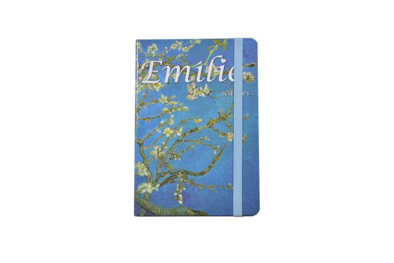 Emilie Scarves - Van Gogh Amandelbloesem - Notebook - Notitieboek (A5)