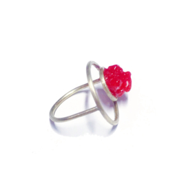 Create your precious chic Candy Floss ring!