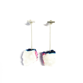 Create your perfect two in one pair of earrings!