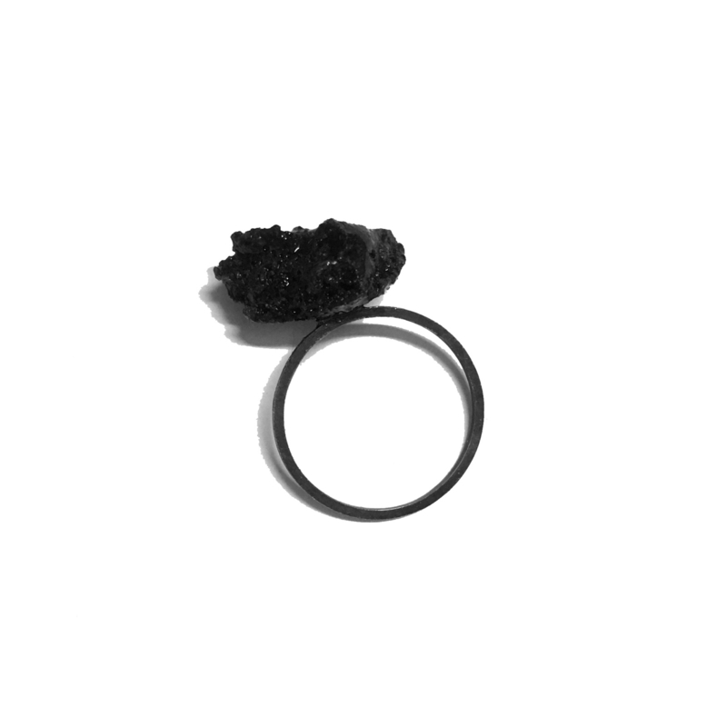 Create your favorite simplistic Candy Floss ring!