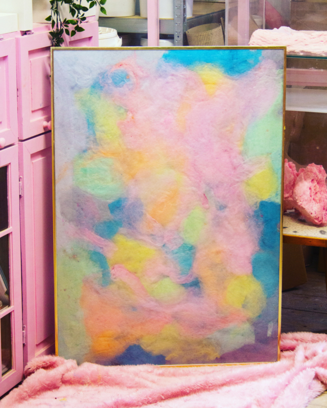 Candy Floss artwork; Colour Bomb