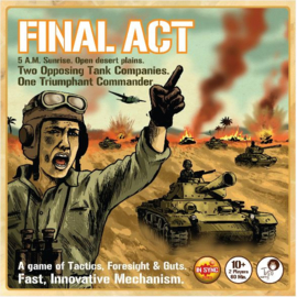 Final Act Strategy Board Game