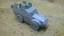 Autoblindo AS37 Troop Carrier - 1/56 Scale