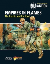Empires in Flames: The Pacific and the Far East - Bolt Action Theatre Book + mini