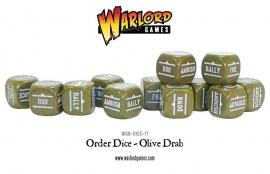 Order Dice - Olive drab