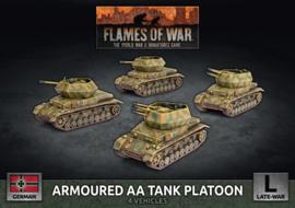 Pre-order: Armoured AA Tank Platoon (Plastic)