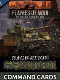 Bagration German Command Card (55x)