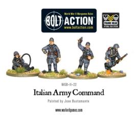 Italian Army/Bersaglieri  command (sun hats)