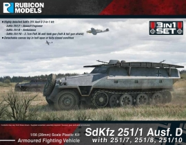 SdKfz 251 Ausf D (3-in-1)