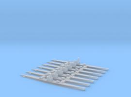 Type IXA/B - Submarine - 1:1800