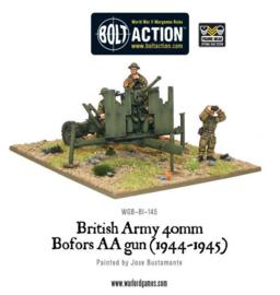 British QF 40mm Bofors AA gun Mk III (1942-1945)